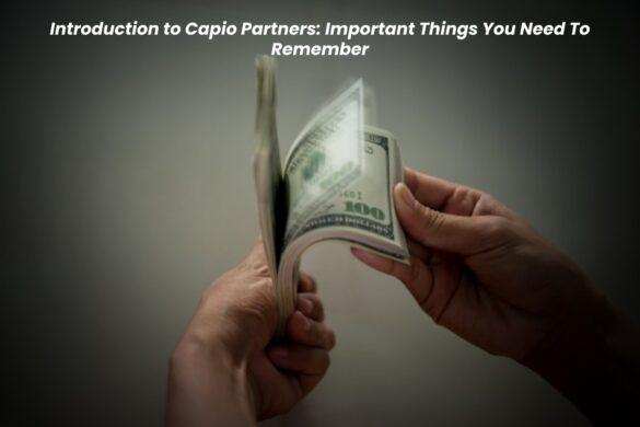 Capio partners