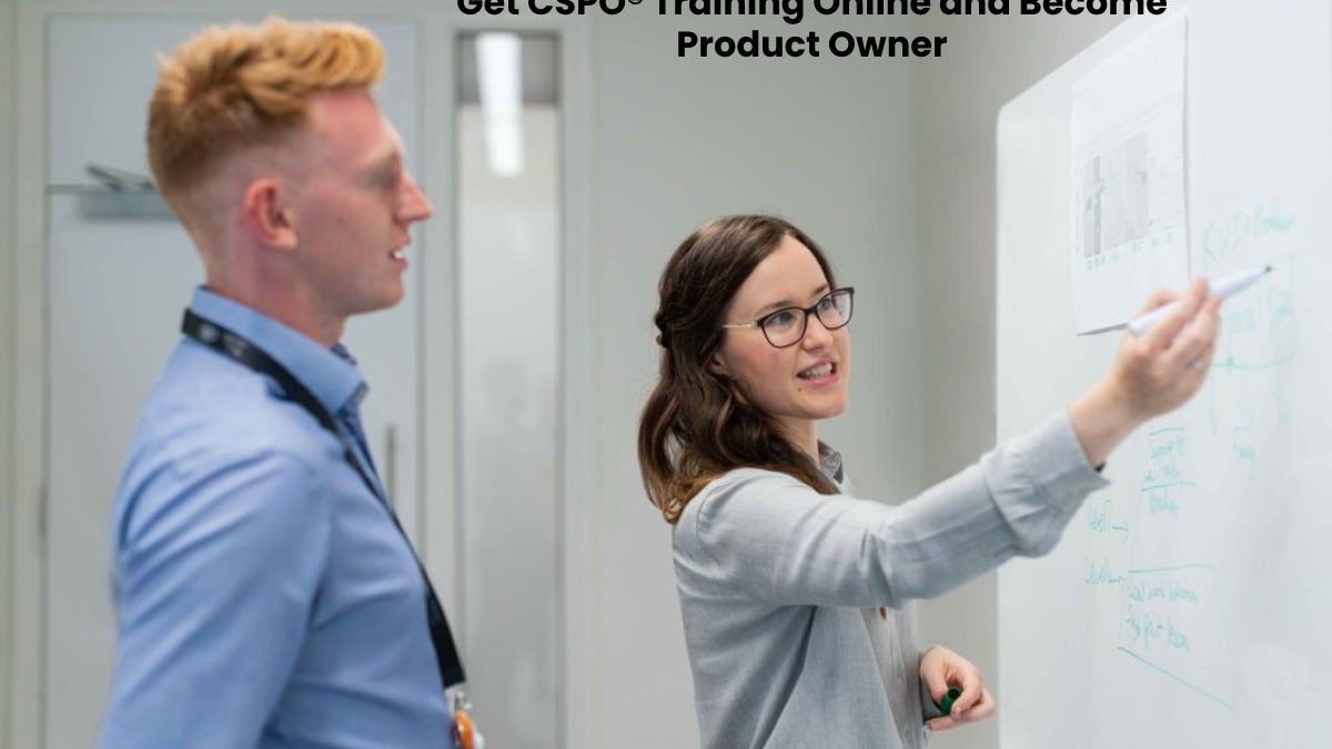 Get CSPO® Training Online and Become Product Owner