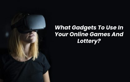 Online games and lottery