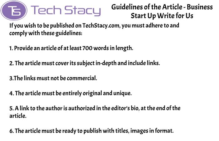 guidelines Business Start up write for PSD3(2)(10)