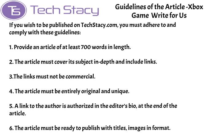 guidelines Xbox Game write for PSD3(2)(14)