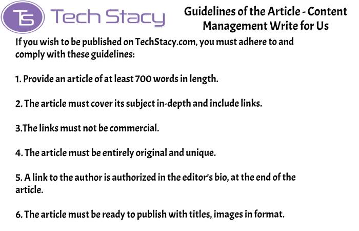 guidelines Content Management write for PSD3(2)(39)