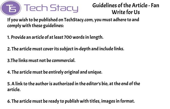 guidelines Fan write for PSD3(2)(42)